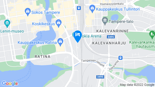 City Home Finland Panorama Suite Map