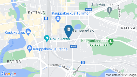 Courtyard by Marriott Tampere City Map