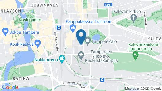 Dream Hostel & Hotel Map