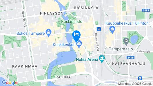 Original Sokos Hotel Ilves Map