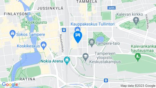 Original Sokos Hotel Villa Map