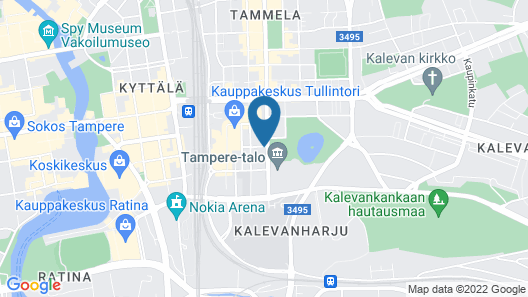 Haave Apartments Tampere Map