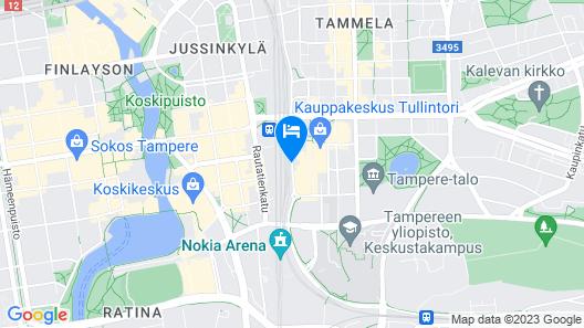 Solo Sokos Hotel Torni Tampere Map