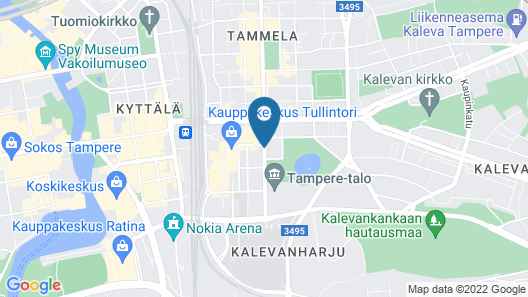 Lapland Hotels Tampere Map