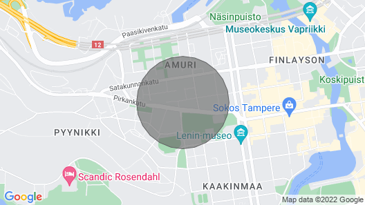 Forenom One-bedroom Apartment in Tampere City Center Map