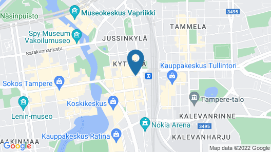 Scandic Tampere City Map