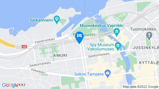 City Home Finland Centrum Studio - Sauna Map