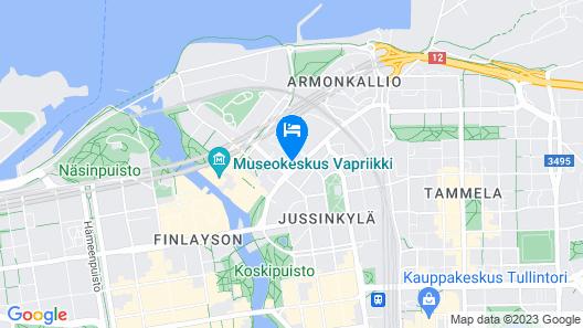 City Home Finland Tampella Map