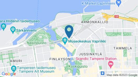 City Home Finland Tampella Studio Map