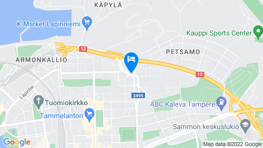 Hotel Kauppi Map