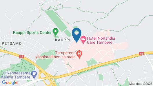 Norlandia Care Tampere Hotel Map