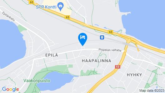 Hotelli Uninen Tampere Map