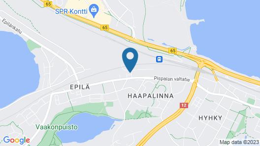Hotelli Haapalinna Map
