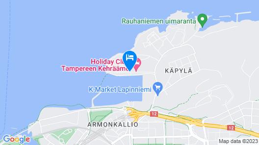 Holiday Club Tampereen Kylpylä Map