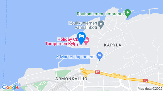 Holiday Club Tampere apartments Map