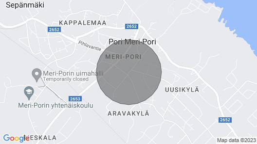 One-bedroom Apartment in Meri-pori, Pori - Katkojantie 3 Map
