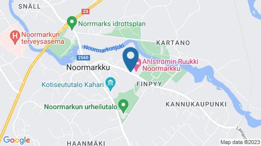 Ahlströmin Ruukki Noormarkku Map