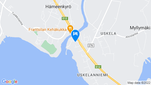 Villa Rauhasalo Map