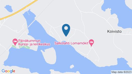 Salkolahti Kiiltavainen Map