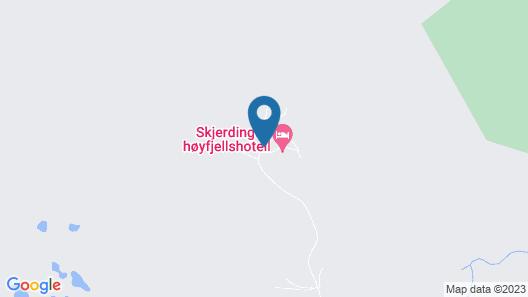 Skjerdingen Høyfjellshotel Map