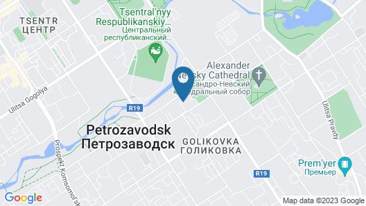 Zarechnaya hotel Map