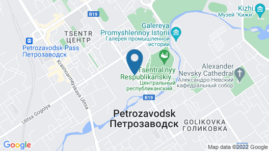 Hotel Petrozavodsk Map