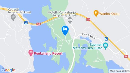 Hotel Punkaharju Map
