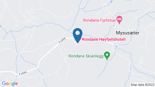 Rondane Hytter og Leiligheter Map