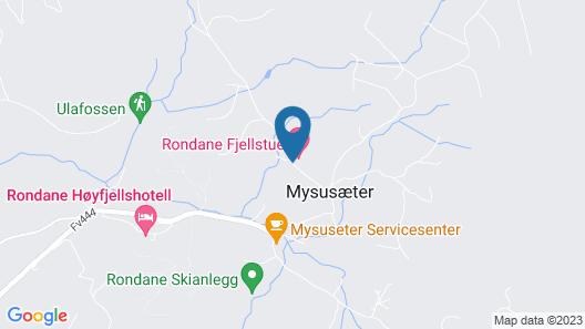 Rondane Fjellstue Map