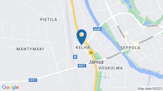 Jämsän Gasthaus Map