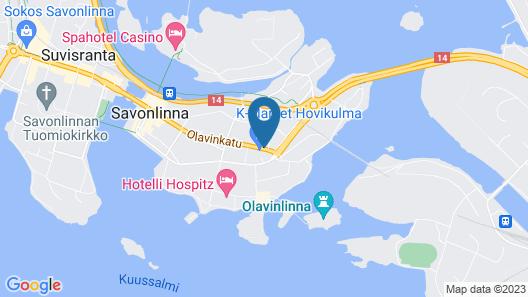 Hotelli Pietari Kylliäinen Map