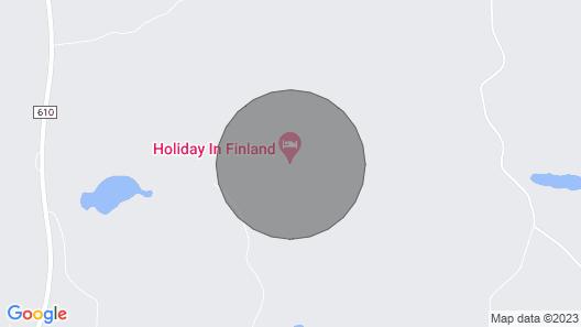 Asunto keskellä kaunista Etelä-Savon maisemaa, ystävällisesti. Map