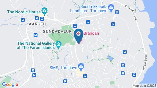 Hotel Brandan Map