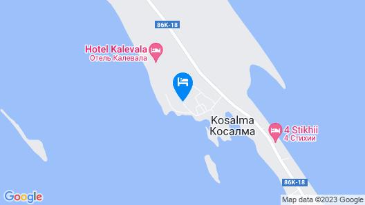 Park-hotel Kalevala Map