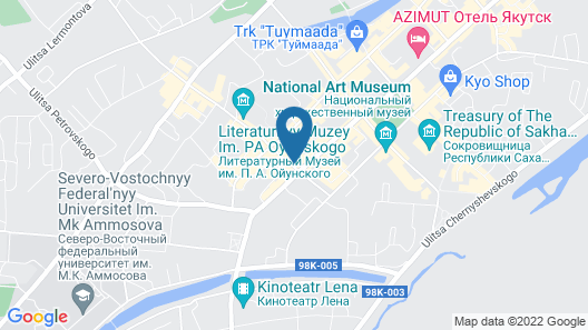 Hotel Randevu Map