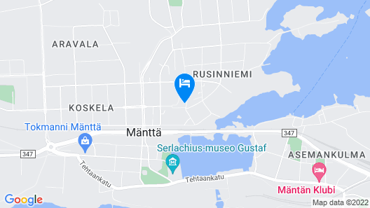 Mänttä Summer Apartments Map