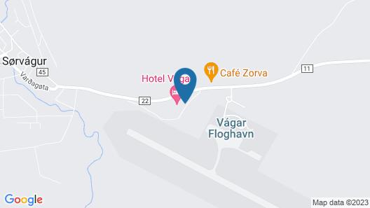 Hotel Vágar Map