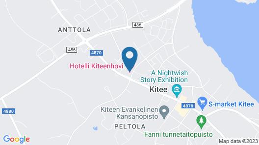 Hotelli Kiteenhovi Map