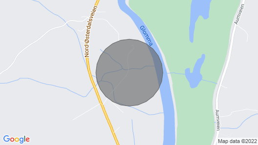 4 Bedroom Accommodation in Tynset Map