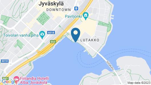 Houseboat Jyväskylä Map