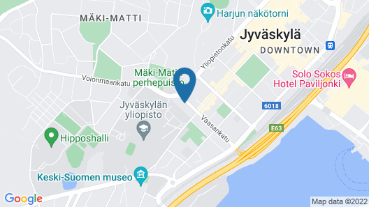 Time Hostel & Apartments Map