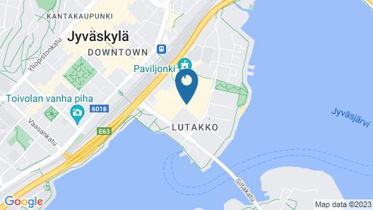 Solo Sokos Hotel Paviljonki Map