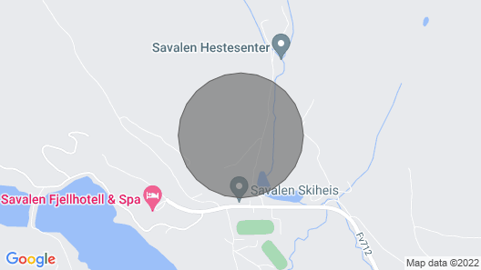 2 Bedroom Accommodation in Tynset Map