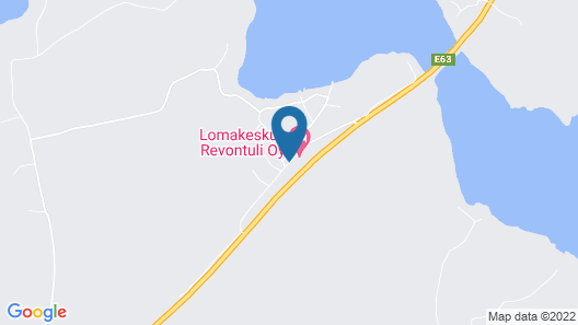 Revontuli Resort Hotel Map