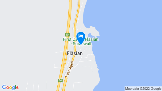 First Camp Sundsvall-Höga Kusten Map