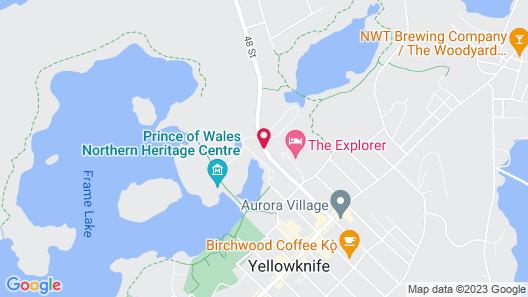 Chateau Nova Yellowknife Map