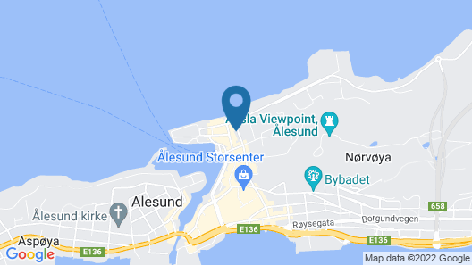 Aalesund Apartments - Near Harbour Map