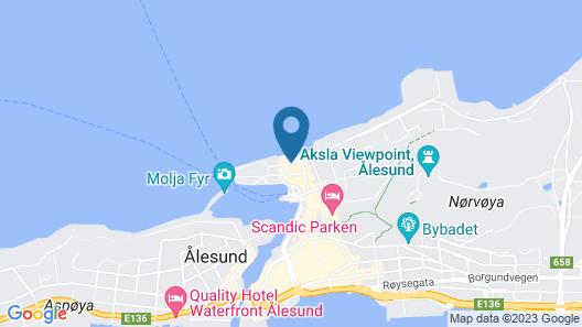 Quality Hotel Ålesund Map