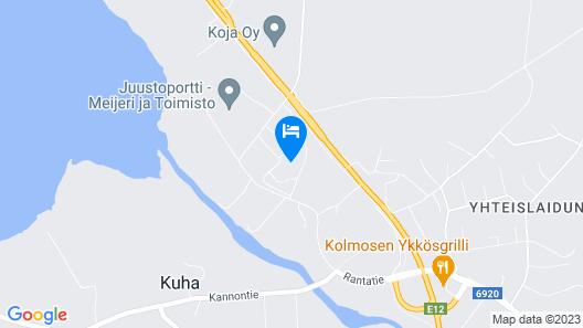 Hotel Jalaskievari Map