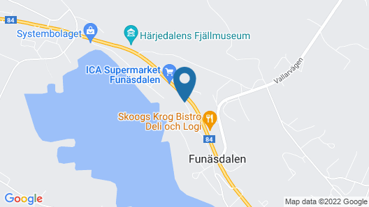 Hotell Funäsdalen Map